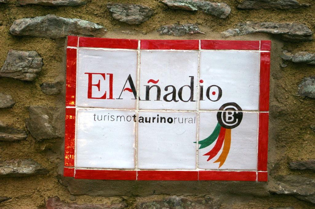 azulejo nuevo Finca El Añadio Turismo rural Taurino