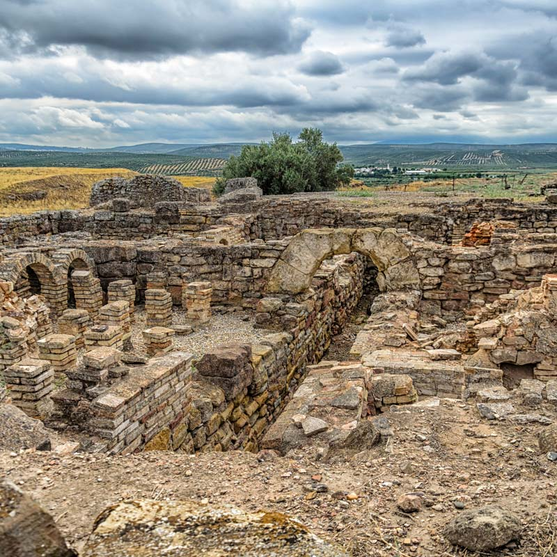 vilches jaen el anadio ruinas romanas